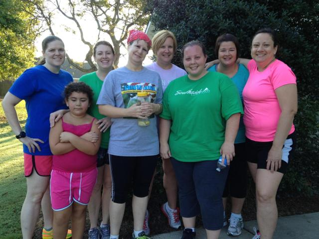 First group of the Run For God-Warner Robins 5K Challenge.